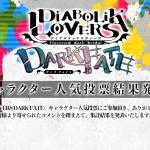 【DIABOLIK LOVERS】キャラクター人気投票結果発表!1位はどのキャラ?