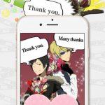 【デュラララ!!×2 deco 承】オリジナル画像が作れるアプリが登場!