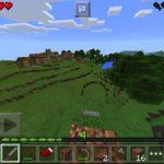 【マイクラPE】家を建てる拠点探しの旅<プレイ日記part2>