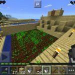 【マイクラPE】畑を作ってみました!!水流で収穫を目指す!<プレイ日記#5>