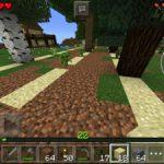 【マイクラPE】植林場を作ってみた!!3種の木を植えたよ!<プレイ日記#9>