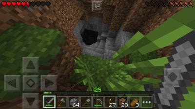 マイクラpe 洞窟