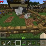 【マイクラPE】羊を飼い始めました!牧場作り!!<プレイ日記#13>