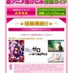 【2016春アニメ】部門別ランキングが発表!今期最初から観たいアニメ1位は!?