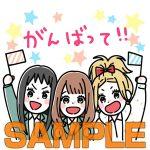 【orange】LINEスタンプが早くも新登場!!高野苺先生の描き下ろし!!