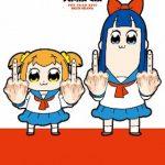 【ポプテピピック】上映会に上坂すみれ&小松未可子が登壇。「大ヒット」はあくまで予想です。