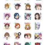 【ミリシタ】LINEスタンプに新登場!!765アイドルがSDキャラに!?