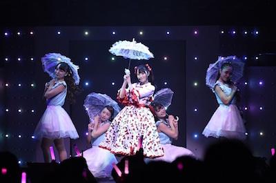 小倉唯さんのライブ「Smiley Cherry」の様子
