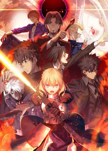 Fate Zeroのアニメ全25話一挙放送が今夜より実施!聖杯戦争を見届けよ