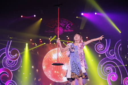 LiSA/LiVE is Smile Always~NEVER ENDiNG GLORY~ at YOKOHAMAARENA the Sun