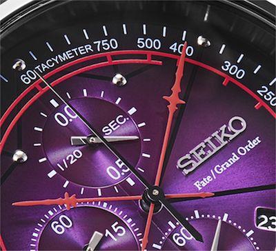 スカサハの宝具「貫き穿つ死翔の槍(ゲイ・ボルク・オルタナティブ)」が時計盤面の針に