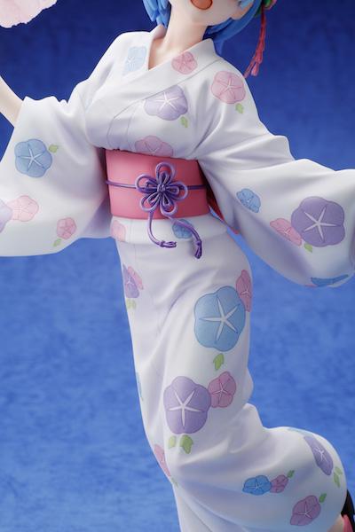 レム 浴衣Ver.フィギュアのカット写真