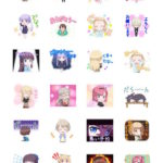 NEW GAME LINEスタンプ