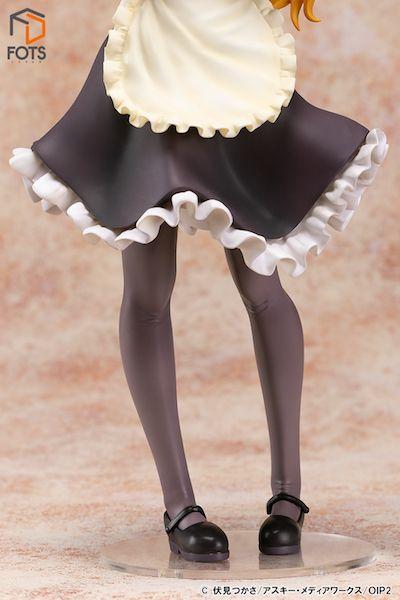 高坂桐乃 メイドver フィギュアの脚の画像