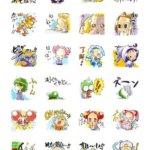 【おジャ魔女どれみ】LINEスタンプ第2弾が登場!描き起こしイラストで全40種を収録