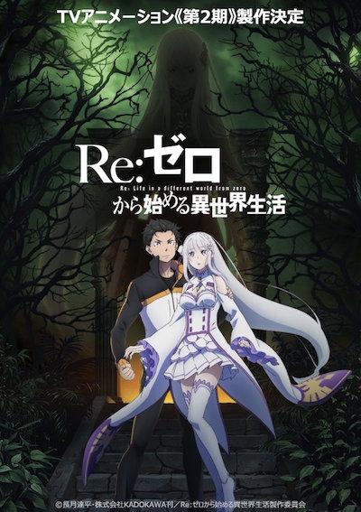 【リゼロ】アニメ第2期の制作決定!公開されたPVでは鬼の形相のスバル!?
