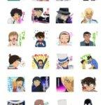 【名探偵コナン】LINEスタンプ第6弾が新登場!怪盗キッド含む全40種