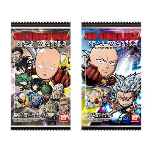 【ワンパンマンシールウエハース】7月に発売決定!描き下ろしイラストを使用