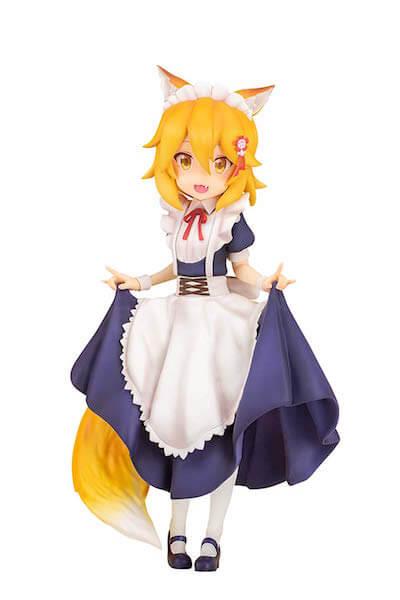 世話やきキツネの仙狐さん「仙狐」メイド服verフィギュア