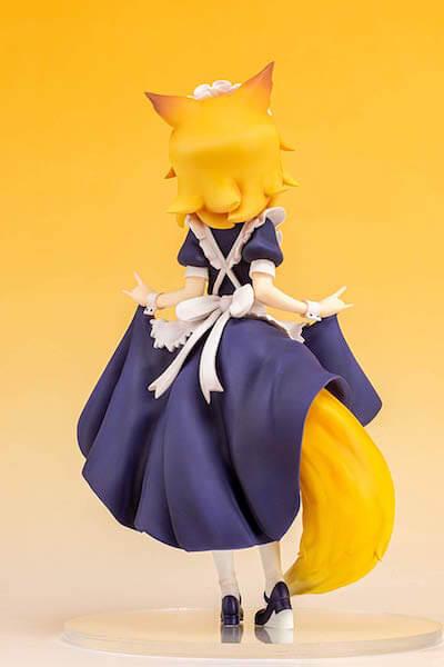 仙狐 フィギュアの後ろ姿