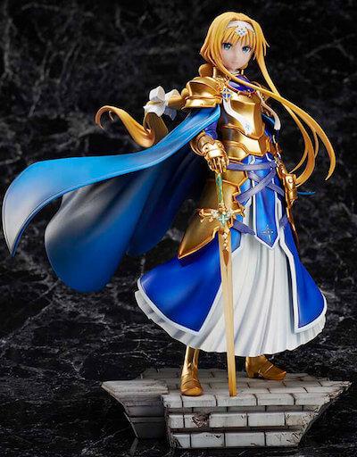 【SAO】アリスフィギュアを画像レビュー!金木犀の剣の造形が美しい