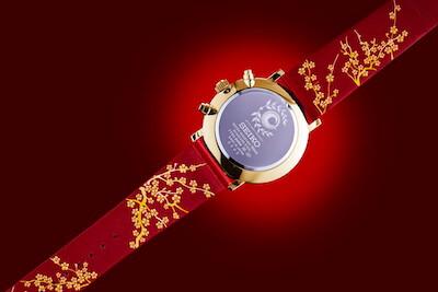 FGO×セイコーコラボ時計宮本武蔵モデルの裏面