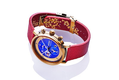 FGO×セイコーコラボ時計宮本武蔵モデルの全体2