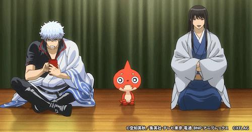 「銀魂×モンスト」コラボアニメの先行カット