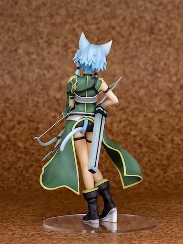 SAO「シノン」ALOverフィギュアの後ろ画像
