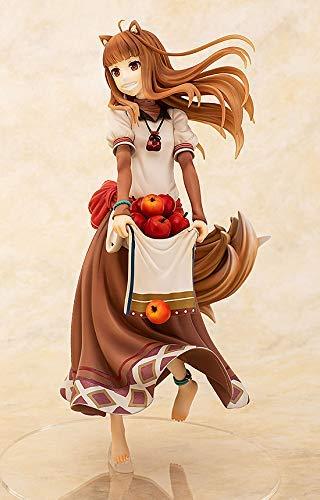 「狼と香辛料」ホロ 豊穣の林檎ver.フィギュアの斜め画像