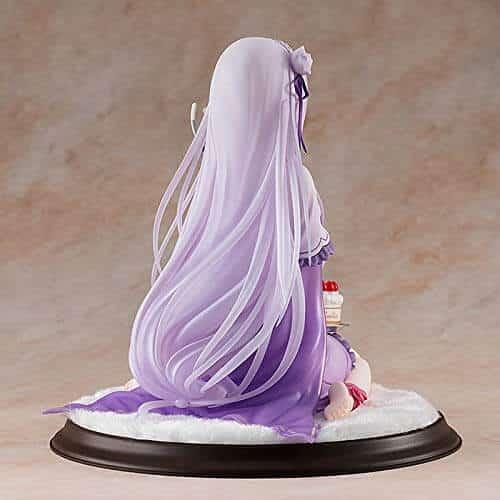 エミリア バースデーケーキVer.フィギュアの後ろ画像